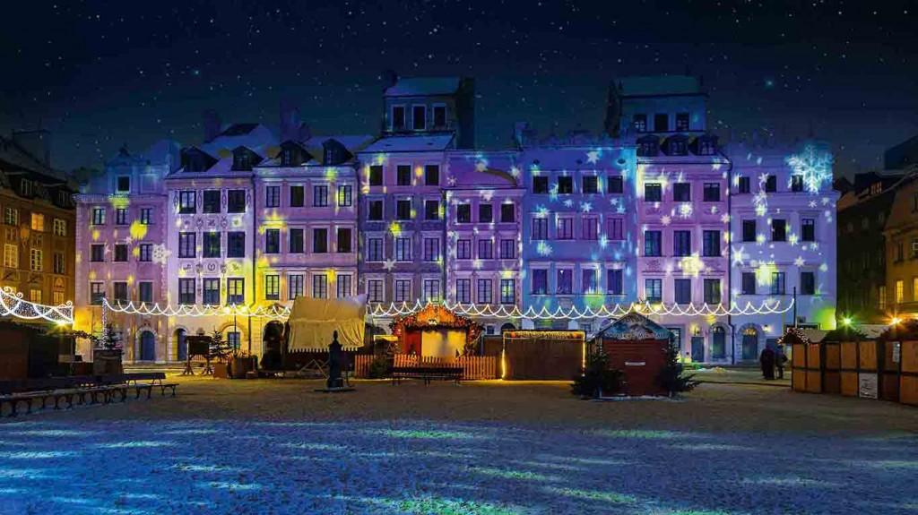 Warszawa - projektory Proietta